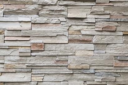 Faux Stone Exterior for Metal Building