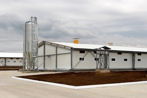 steel industrial farm buildings