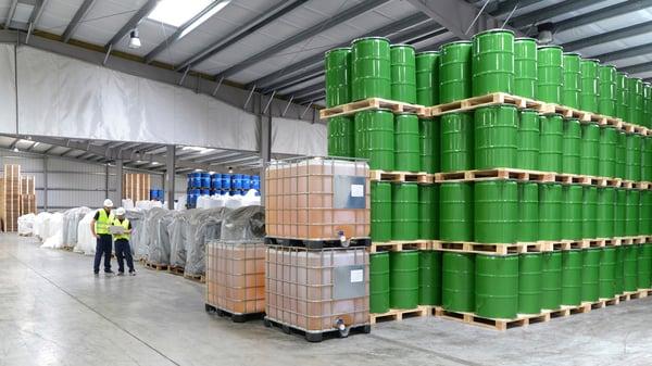Chemical plant metal building kits