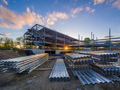 Metal Building Structure Components
