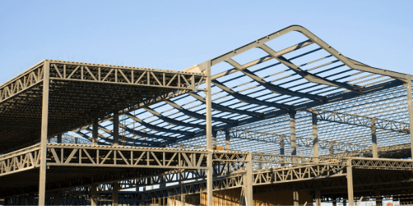 The steel from your old building will go through the recycling process