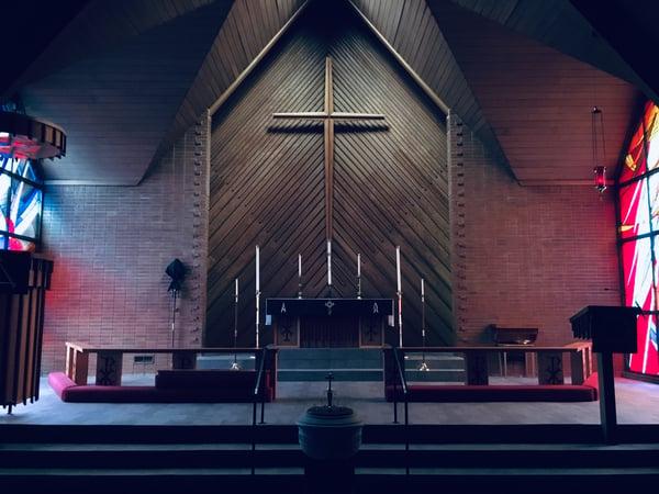 Prefab metal churches maximize space