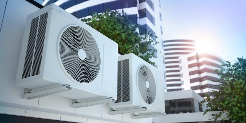 Commercial HVAC System for metal building